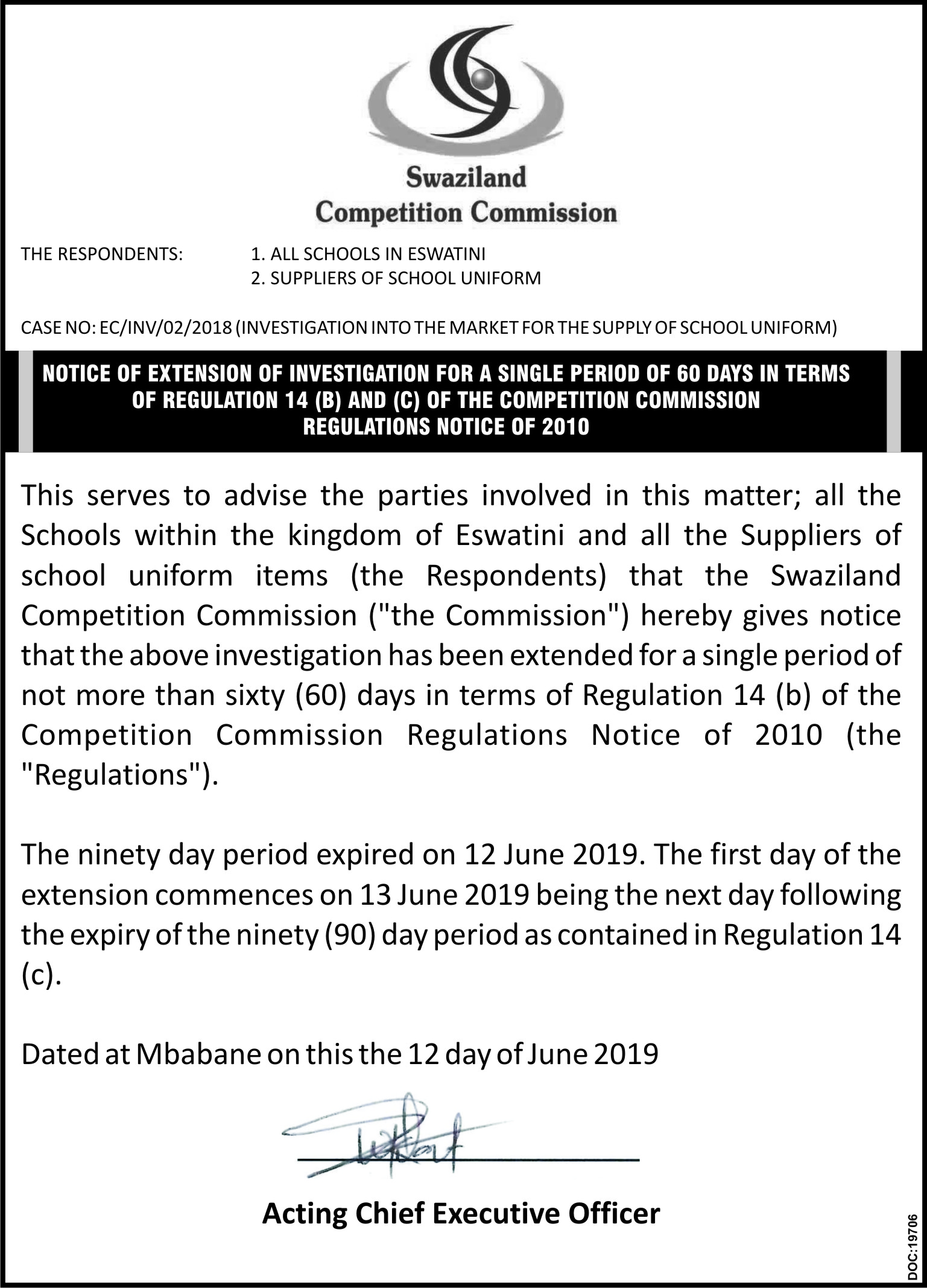 News – Eswatini Competition Commission